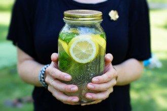 Aromatisiertes Wasser