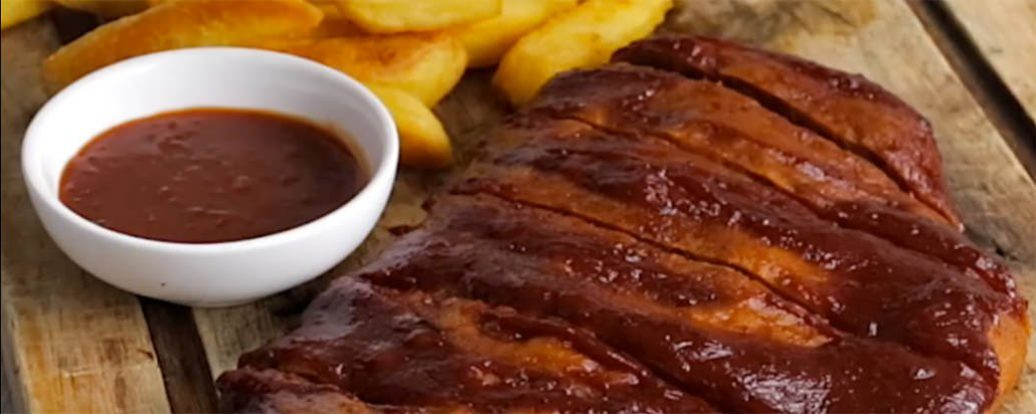 Vegane BBQ-Ribs