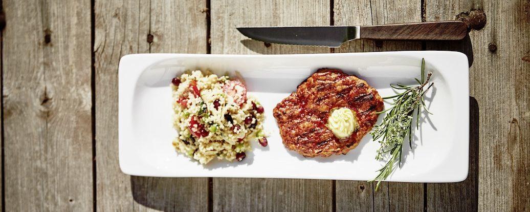 BBQ-Steaks aus Seitan