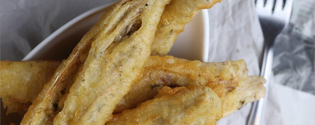 Bananenblüten-Backfisch (vegan)