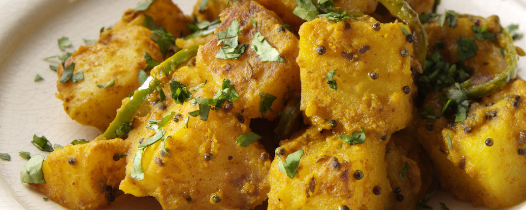 Bratkartoffeln indischer Art