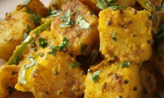 Bratkartoffeln indische Art
