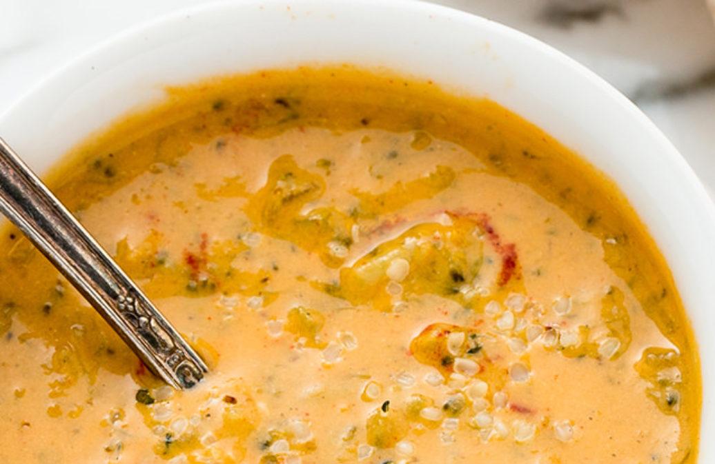 Brokkoli-Käse-Suppe