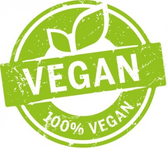 Button 100% Vegan
