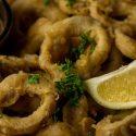 Vegane Calamari mit Chipotle Aioli