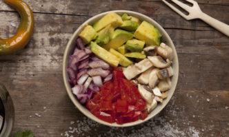 Ceviche Vegano