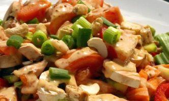 Curry-Erdnuss-Dressing