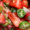 pikante Wassermelonen-Salsa