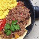 Gallo Pinto (Reis mit Bohnen auf Costaricanische Art)