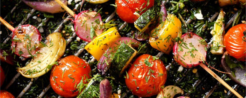 Gemüsespieße mit Chimichurri