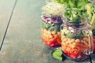 Gemüse im Glas