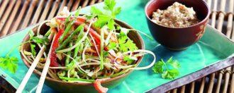 Roh-veganes Phad-Thai