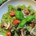 Grünkohl-Pesto mit Pasta