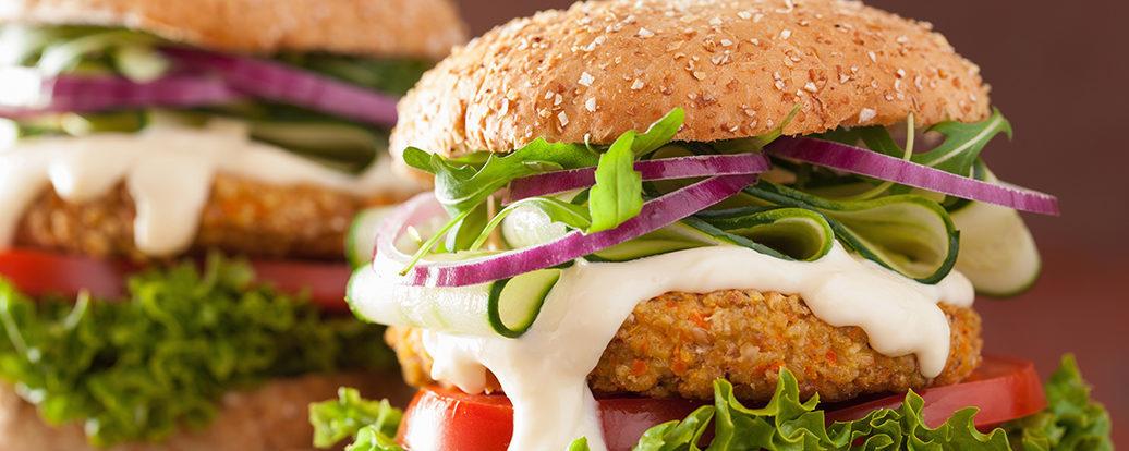 Grünkern-Burger