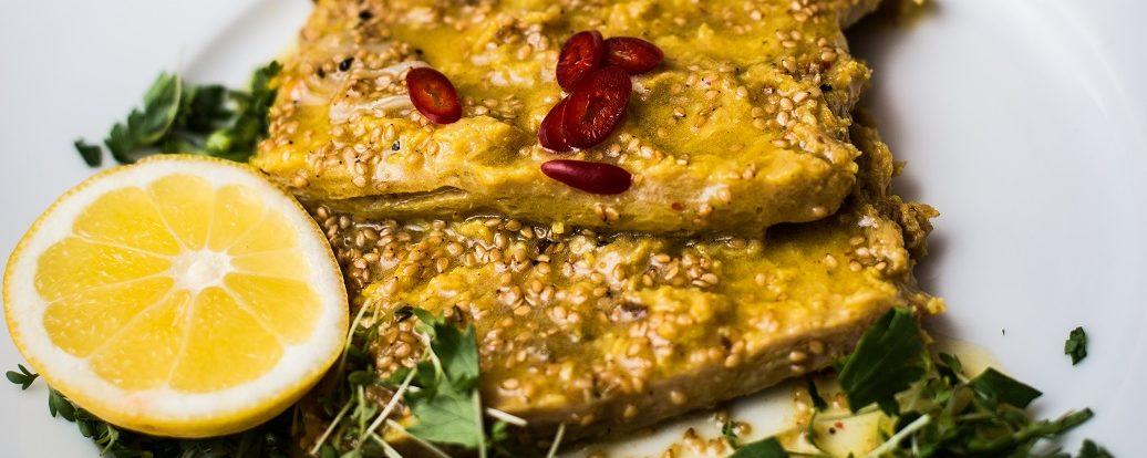 Orientalische Knoblauch-Sesam-Marinade