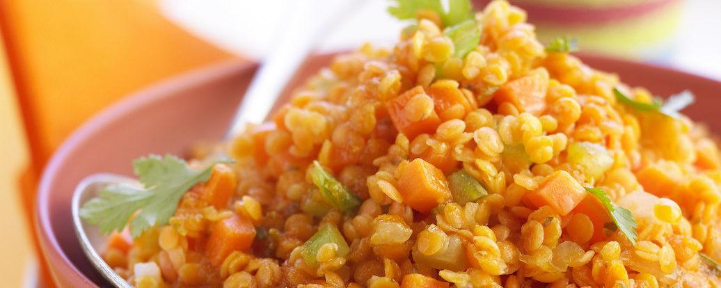 Linsen-Curry mit Möhren