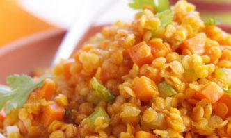 Linsen-Curry mit Karotten