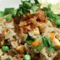Kambodschanischer gebratener Reis