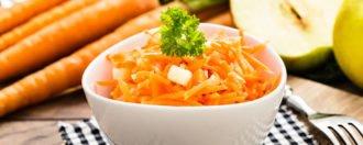 Karottensalat mit Äpfeln