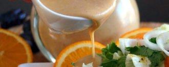 Orangen-Dattel-Vinaigrette