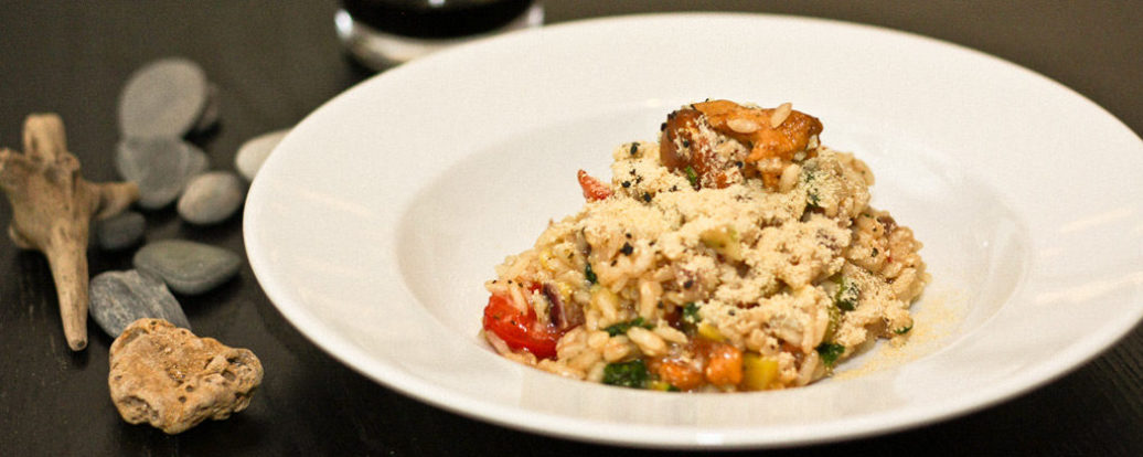 Pfifferling-Risotto