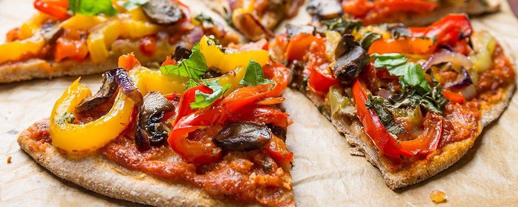 vegane pizza vegan taste week. Black Bedroom Furniture Sets. Home Design Ideas