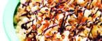 Popcorn mit geroesteten Kokosflocken