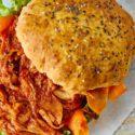 Pulled Artichoke Burger