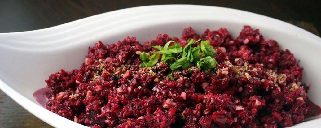 rote bete apfel salat vegan taste week. Black Bedroom Furniture Sets. Home Design Ideas