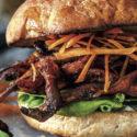 Pulled-Pilz-Sandwich