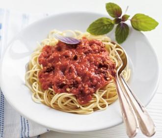 Spagetti Bolognese vegan