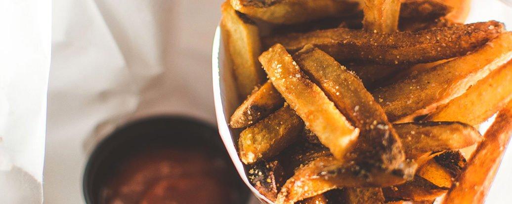 Süßkartoffel-Pommes
