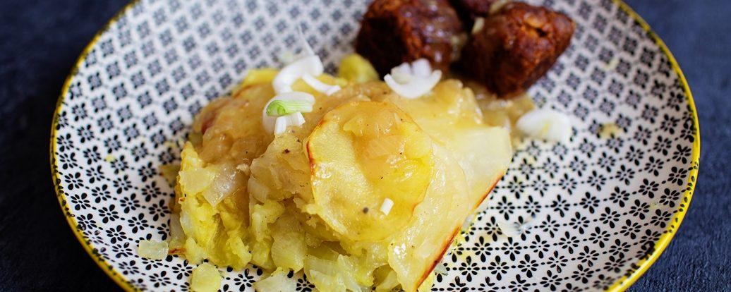 Teisen Winwns (Walisischer Zwiebelkuchen)