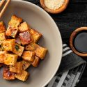 Knoblauch Tofu