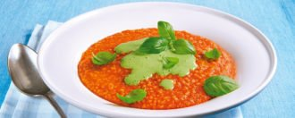 Tomaten-Hirse-Suppe