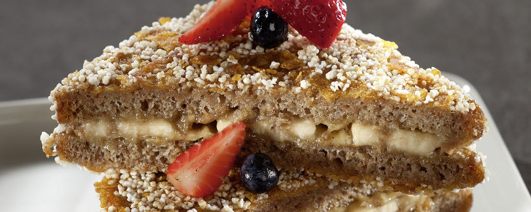 Berlin Toast mit Cashews & Crunchkruste