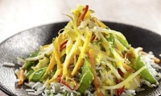 Gemüse-Kokos-Curry mit Basmatireis