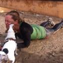 Vegane Mutter und omnivore Familie