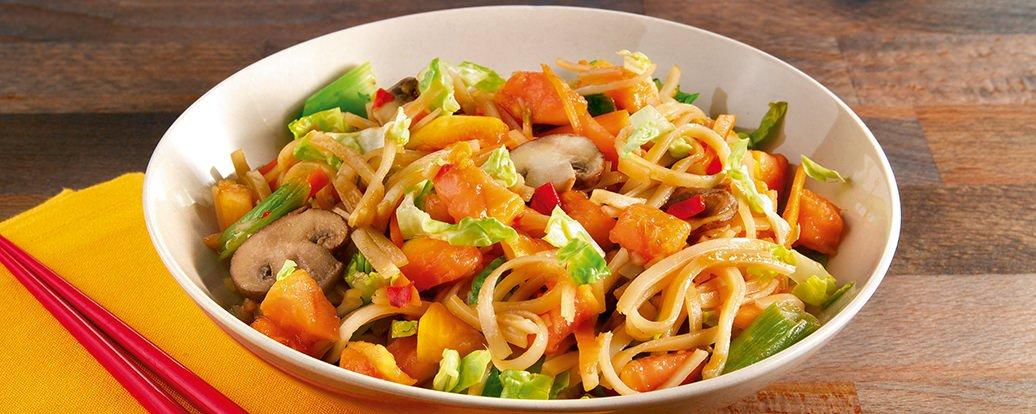 Woknudeln mit Papaya • Vegan Taste Week
