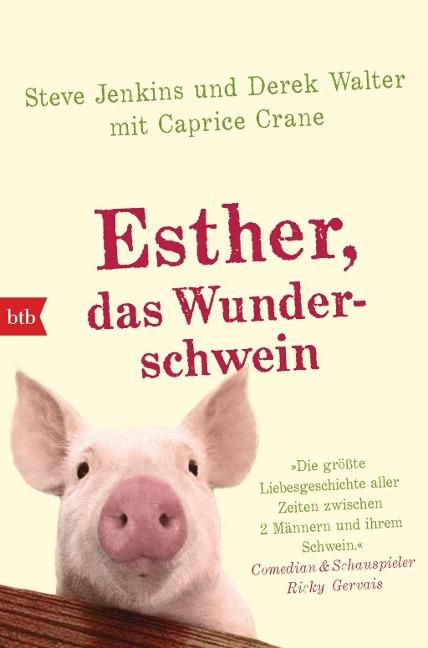 Buchcover Esther, das Wunderschwein
