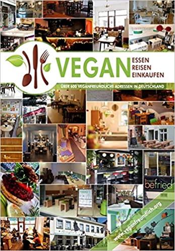 Buchcover Vegan essen, reisen, einkaufen.