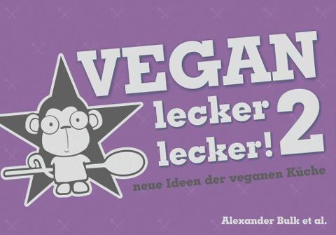 Buchcover Vegan lecker lecker! 2