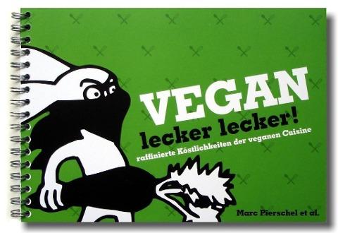 Buchcover Vegan lecker lecker!
