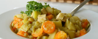 Erbsen-Kartoffel-Eintopf