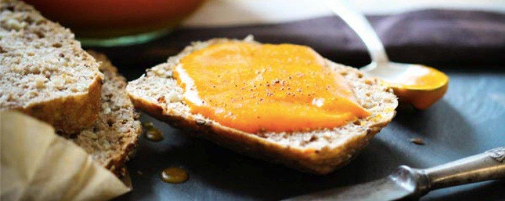 Kürbis-Orangen-Marmelade mit Ingwer