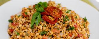 Linsensprossensalat