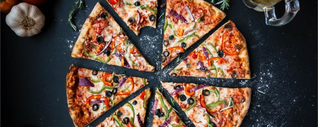 Pfannenpizza (vegan)