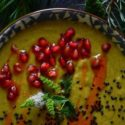 Einfache Curry-Cremesuppe