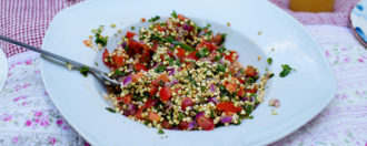 Rohkost-Tabouleh vegan