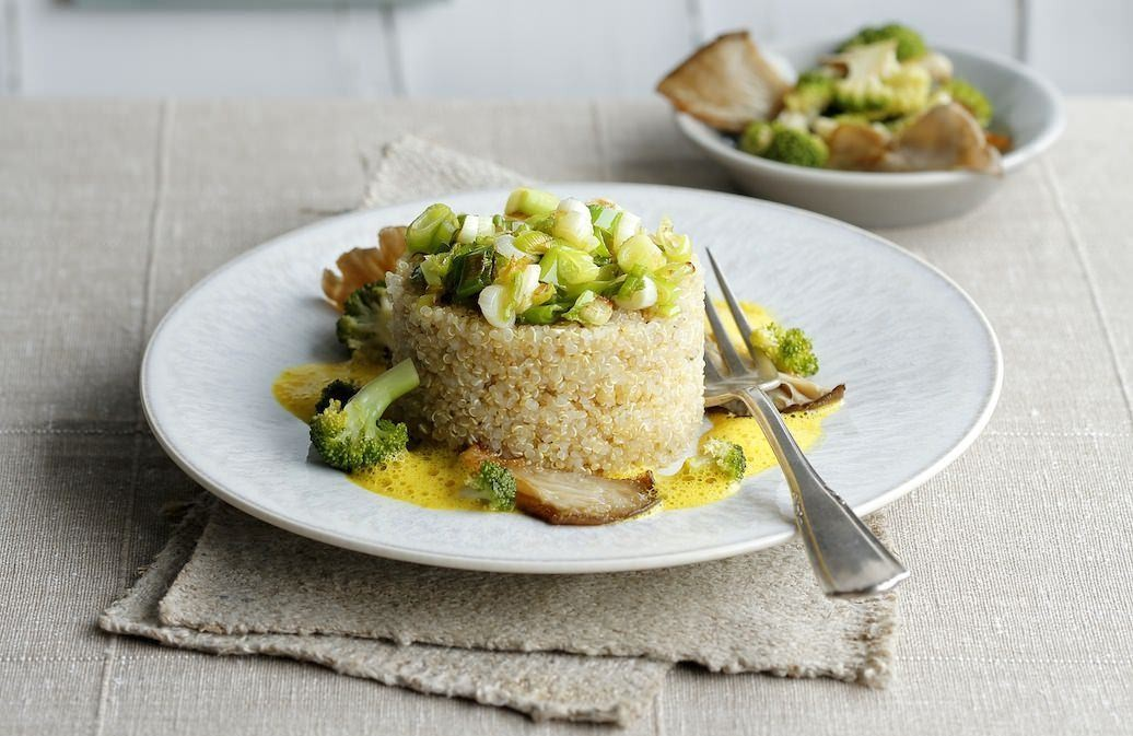 Quinoa-Gericht